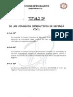 Reglamento Sistema de Defensa Civil