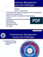 Contemporary Management Issues and Challenges1230