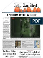 The Daily Tar Heel for October 31, 2012