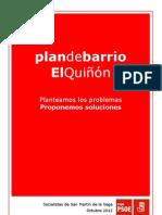 Plan de Barrio El Quiñón