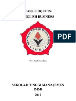 Tugas Bahasa Inggris Bisnis