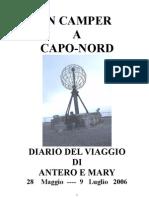 2006 Diario Capo Nord
