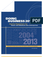 World Bank Doing Business 2013