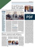 Rassegna Stampa 31.10.12
