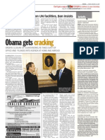 TheSun 2009-01-23 Page08 Obama Gets Cracking
