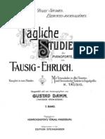 Tausig Taegliche Studien 2.Heft Steingr