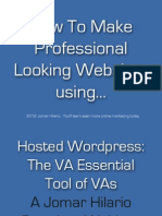 Hosted Wordpress Plugins Premium Webinar PDF by Jomar Hilario