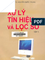 4. Xử Lý Tín Hiệu và Lọc Số Tập 1 - Pgs.Ts.Nguyễn Quốc Trung, 387 Trang