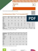 Relation 6 Paris - Laon 1 Et 4 11 2012