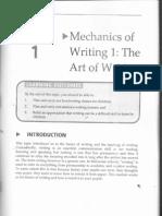 Teaching of Writing