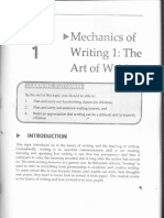 Teaching of Writing
