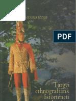 Huszka József - Tárgyi ethnográfiánk őstörténeti vonatkozásai 1898.