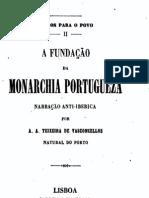 A fundação da monarchia portugueza