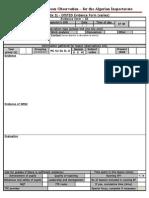 Appendix 5j - OfSTED Evidence Form