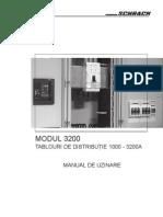 Manual de Uzinare Modul 3200 - Tablouri de Distributie
