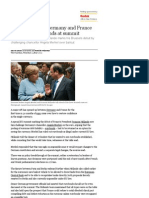 Eurozone Crisis_ Germany and France Clash Over Eurobonds at Summit _ Business _ the Guardian