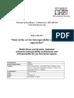 Informe sobre arquitecturas de interoperabilidad