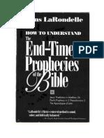 Como Compreender as Profecias Do Tempo Do Fim - Hans K. LaRondelle