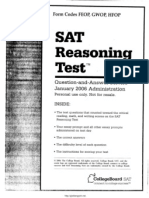 SAT Test 8