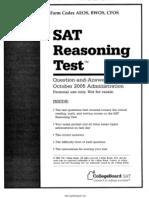 SAT Test 9