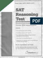 SAT Test 11