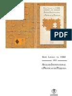 Análise Institucional e Práticas de Pesquisa - Lourau