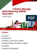 SMDR Presentation