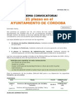 comunicacion Ayuntamiento de Córdoba rio ebro