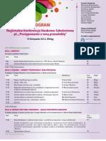 Elblag2012 Program