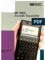 HP48SX Owner Manual Vol 1