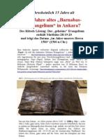 Syrischer Textfund Ankara