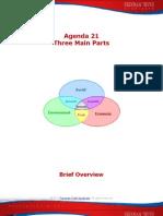 Agenda 21-Three Main Parts
