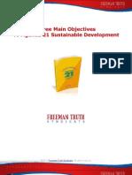 Three Objectives of Agenda 21