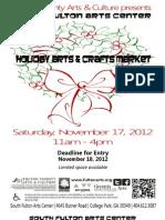 SFAC Craft Market Pack 2012