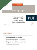 SEFI Legal Warner 10.30.12