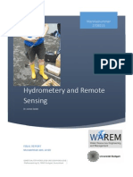 Remote Sensing and Hydrometry Final Report