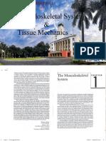The Masculoskeletal System & Tissue Mechanics