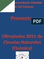 olimpiadas 2012  química