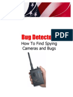 Stun Gun Mikes Report on How to Find Spying Bugs