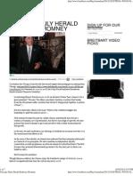 Chicago Daily Herald Endorses Romney