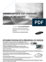 Smanual Camara de Video C MX20 SPA IB 1204