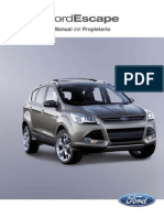 Ford Escape 2013 Manual Del Propietario
