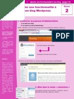 Ajouter Une Fonctionnalite a Wordpress