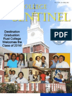 The Rust College Sentinel - Fall 2012