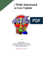 TDCAA DWI Caselaw Update 120621