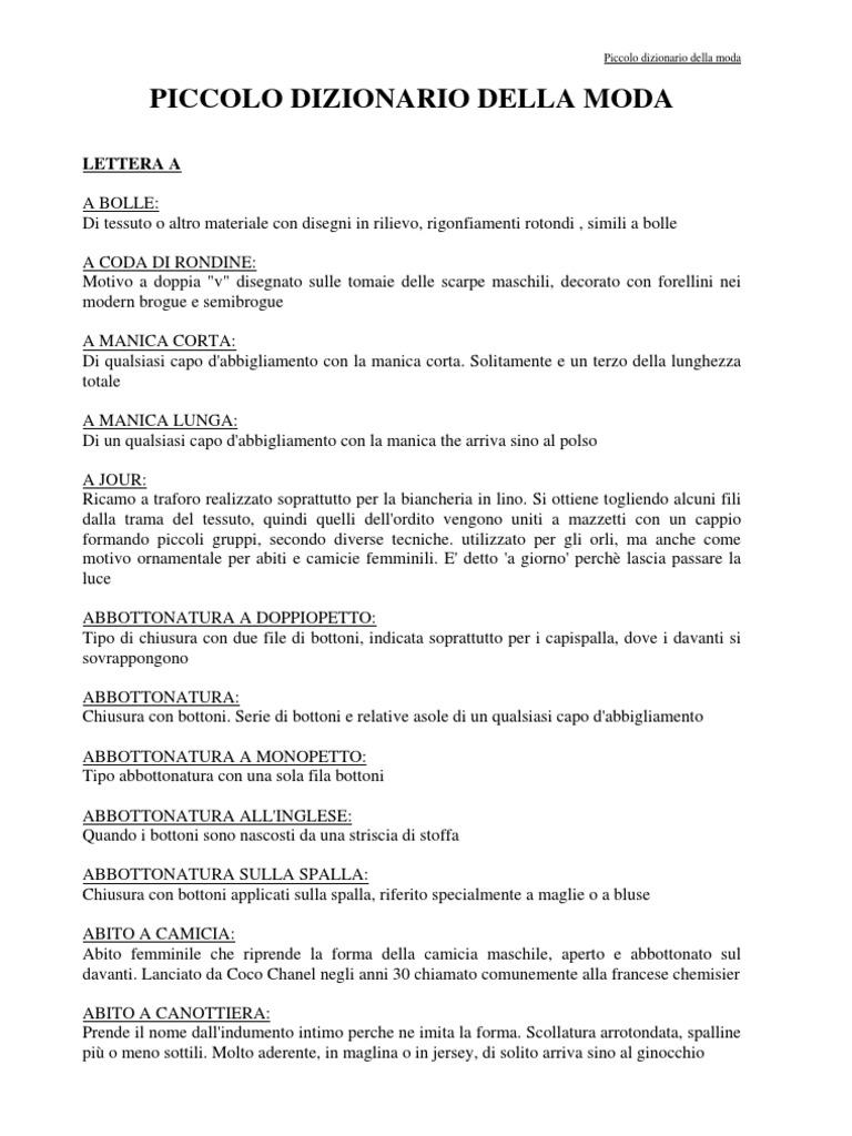 Dizionario Della Moda G 0f11c9373087