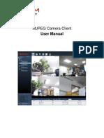 MJPEG Camera Client User Manual