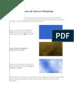 Textura de Cielo en Photoshop