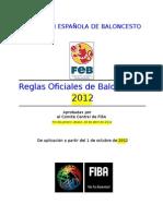 Reglas Del Baloncesto 2012