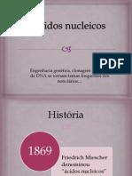ACIDOS NUCLEICOS/ claudia honara